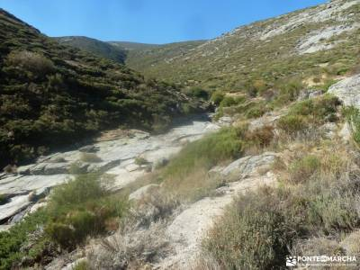 La Serrota - Valle de Amblés; excursiones boca del asno navalagamella urbasa